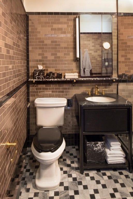 bathroom at Proper Hotel San Francisco