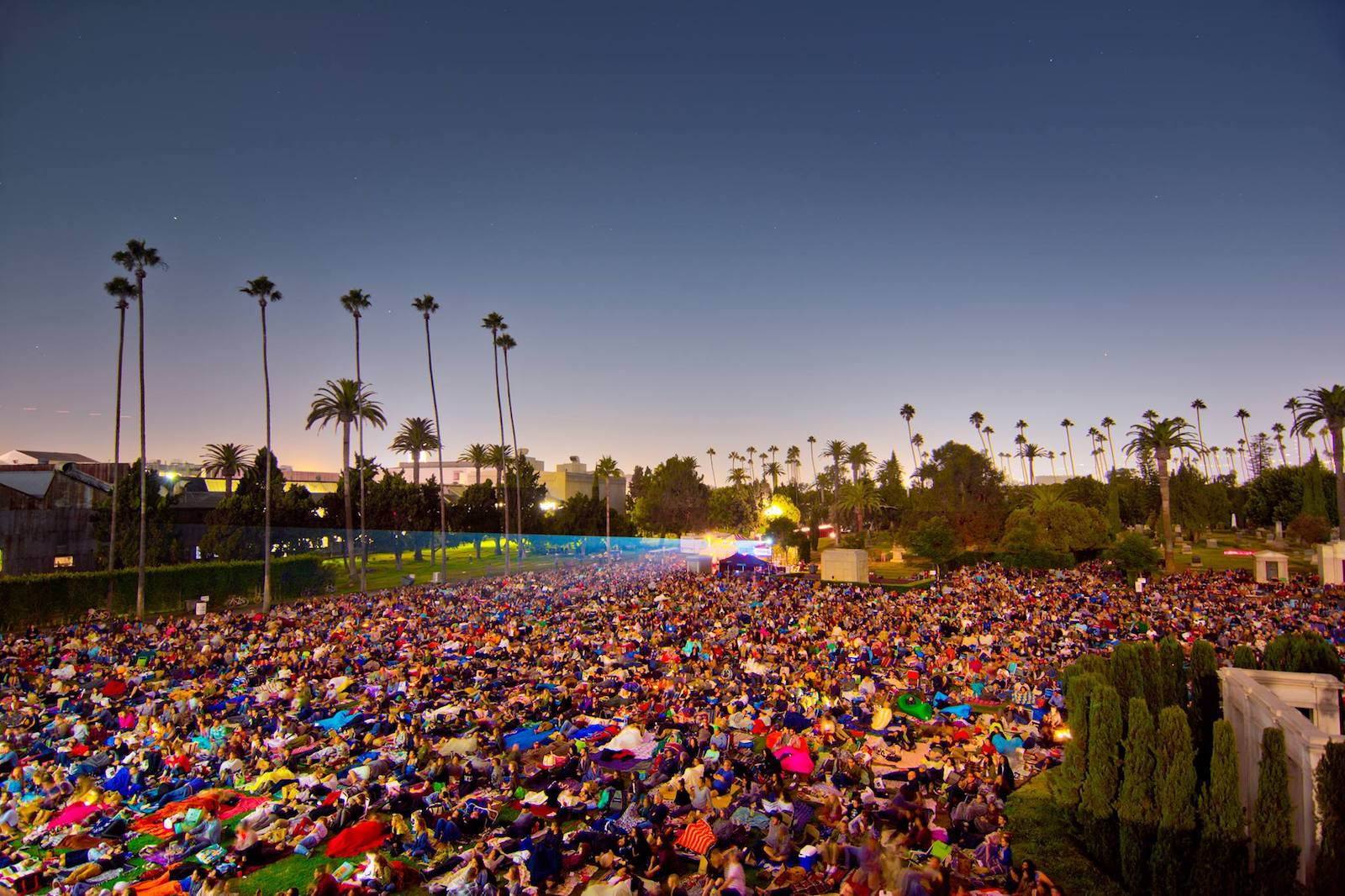 Cinespia Hollywood Forever Cemetery Movie Screenings Image