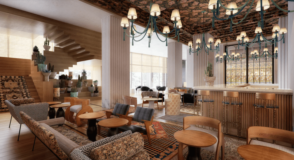 Austin proper lobby
