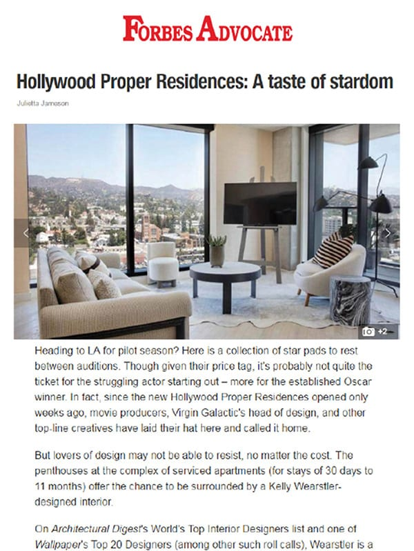 Hollywood Proper Residences Image