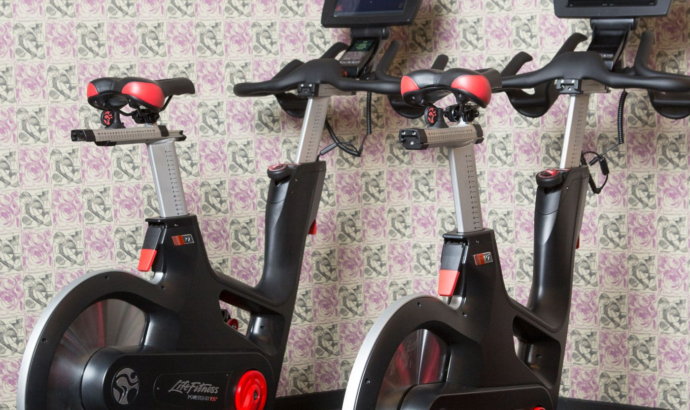 Bikes at San Francisco Proper Gym