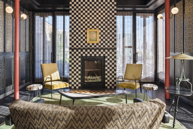 Charmaine's fireplace