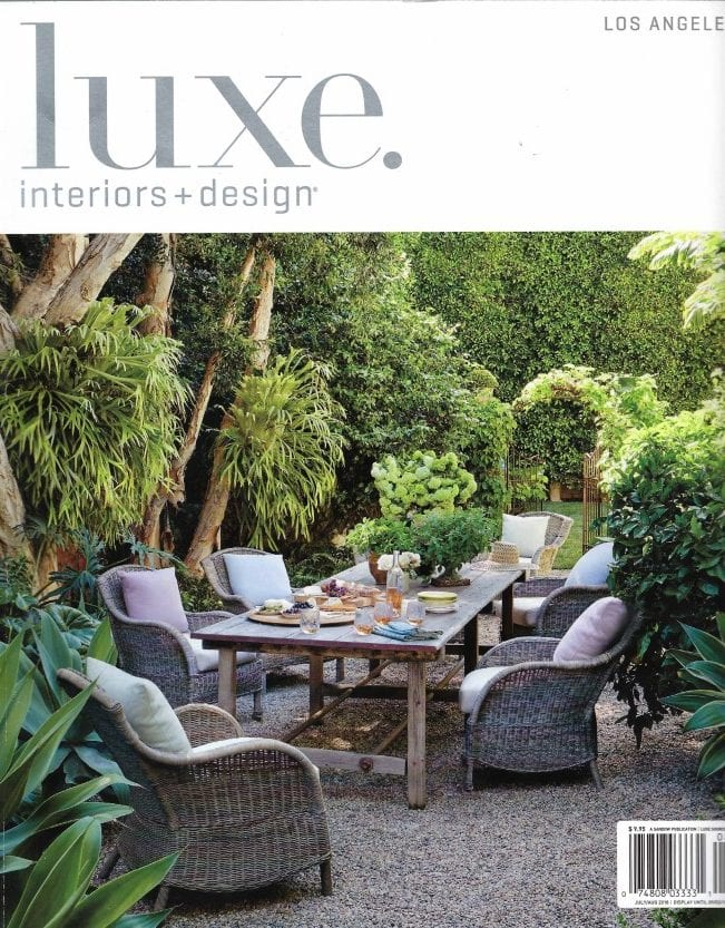 Luxe Interiors cover July