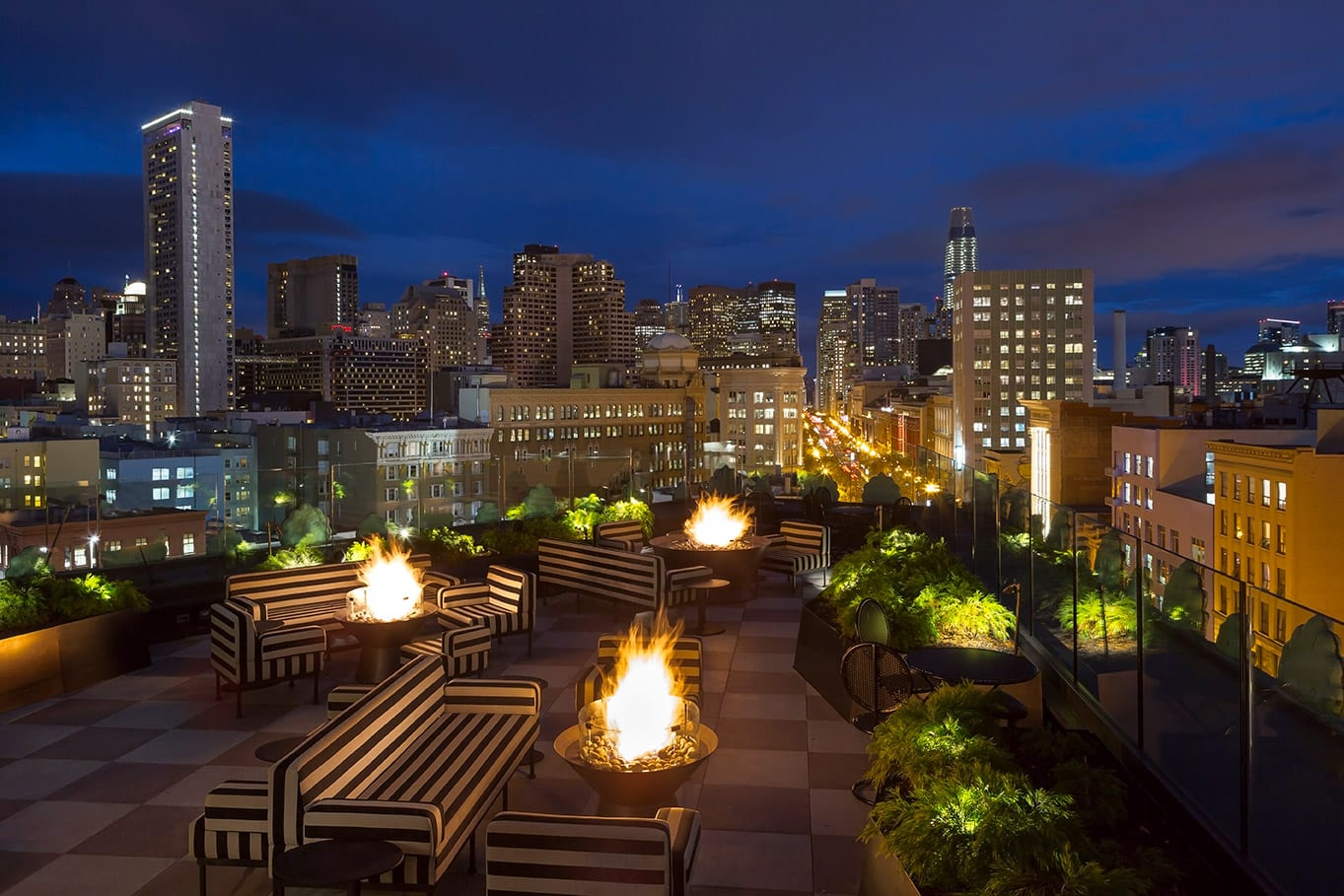 Charmaine's Rooftop Bar & Lounge | San Francisco Proper Hotel