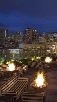 Charmaine's Rooftop bar at Proper Hotel San Francisco
