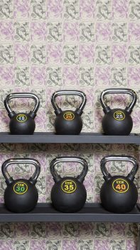 weight room at the San Francisco Proper Gymnasium