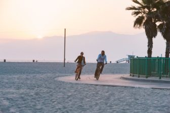 beach bike tour mb