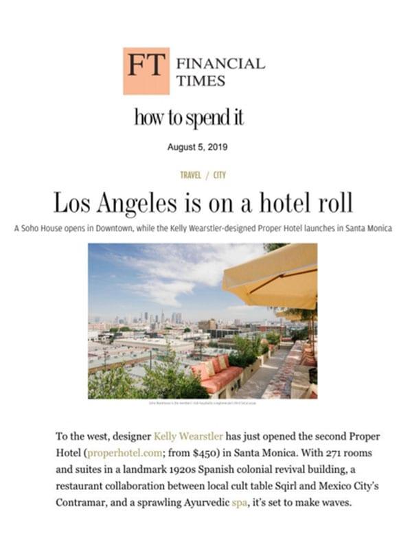 Santa Monica Proper Hotel Image