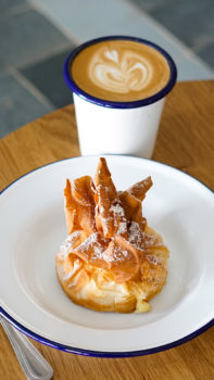 Pastry at Mockinbird Cafe