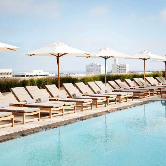Santa Monica Proper Pool Deck